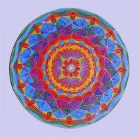 sufi dance 48x48 cm